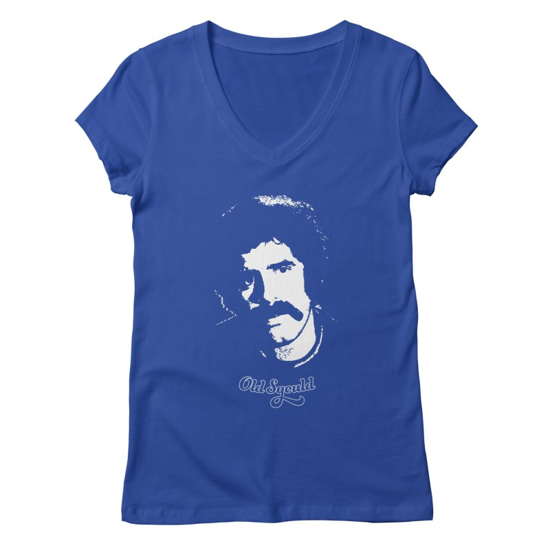 Old Sgould (Elliott Gould) Women's V-Neck by Dave Tees