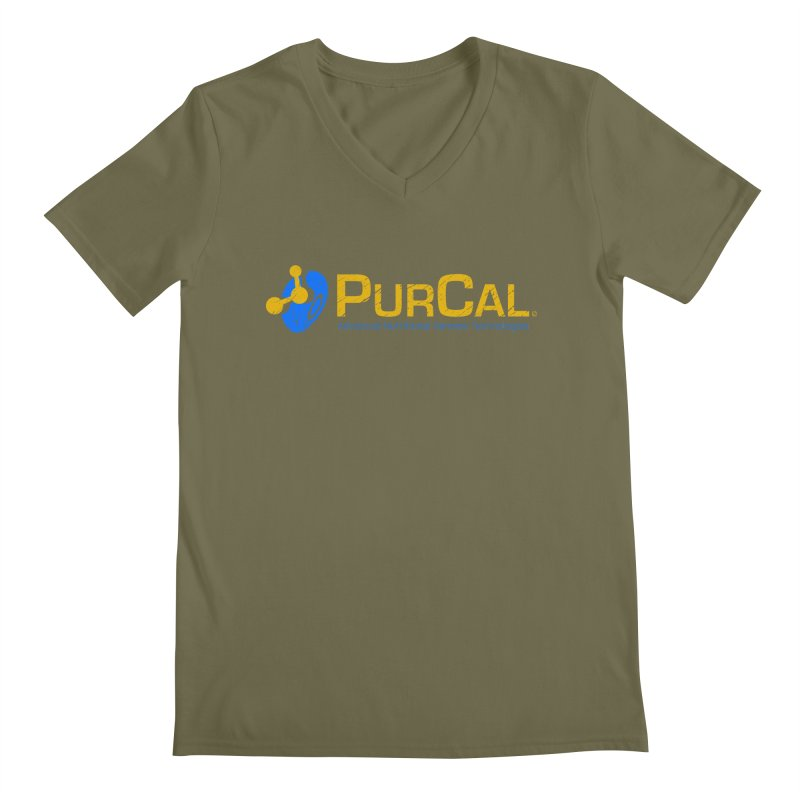 PureCal (from The Windup Girl) Men's V-Neck by Dave Tees