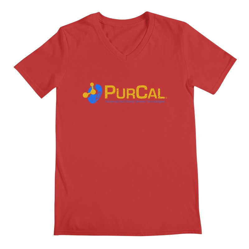 PureCal (from The Windup Girl) Men's Regular V-Neck by Dave Tees