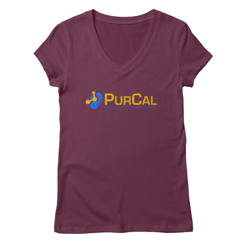 PureCal (from The Windup Girl) Women's V-Neck by Dave Tees