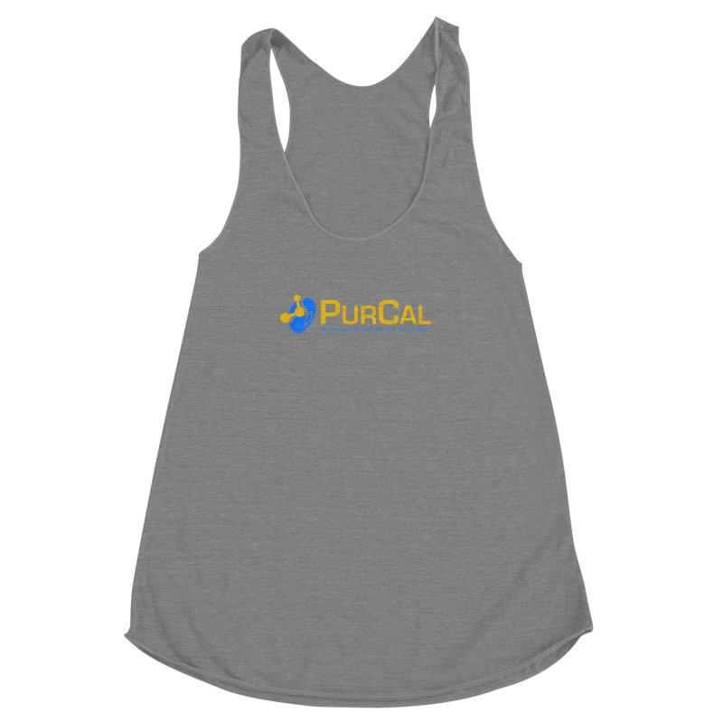 PureCal (from The Windup Girl) Women's Racerback Triblend Tank by Dave Tees