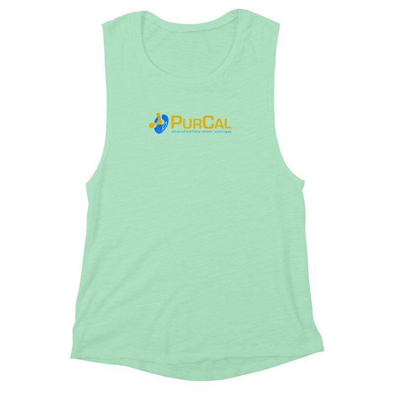 PureCal (from The Windup Girl) Women's Muscle Tank by Dave Tees