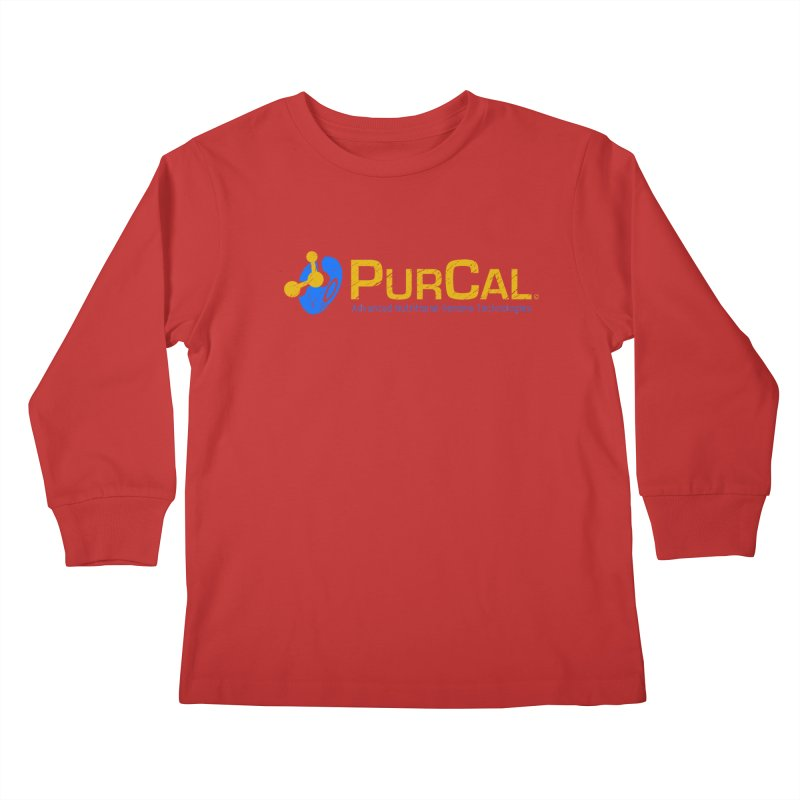 PureCal (from The Windup Girl) Kids Longsleeve T-Shirt by Dave Tees