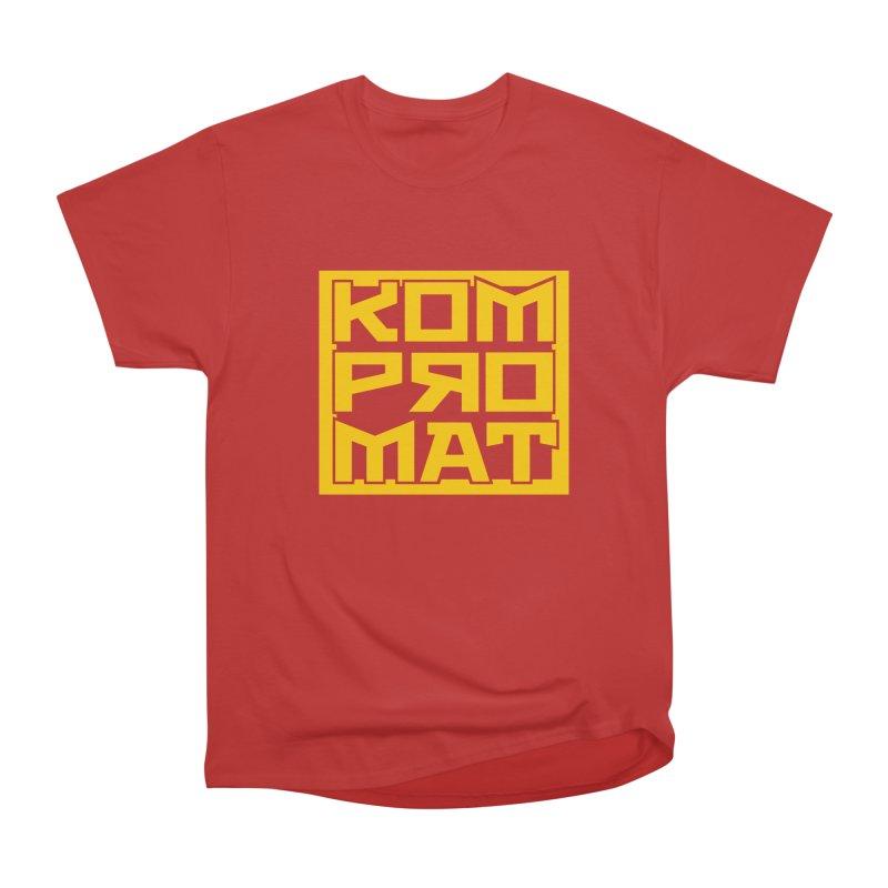 KOMPROMAT Men's Heavyweight T-Shirt by Dave Tees
