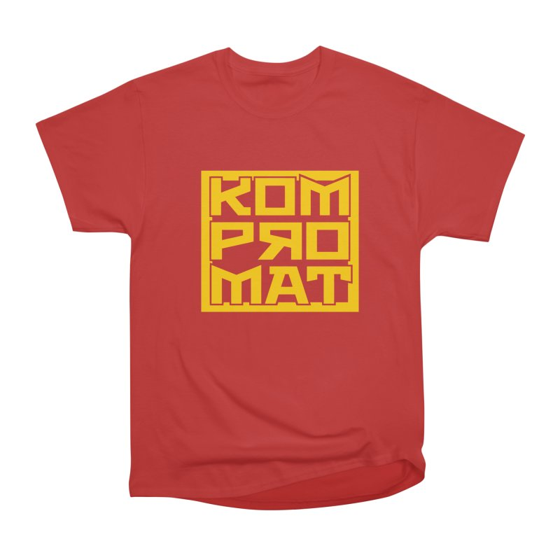 KOMPROMAT Women's Heavyweight Unisex T-Shirt by Dave Tees