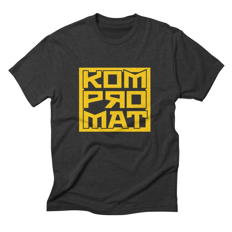 KOMPROMAT Men's Triblend T-Shirt by Dave Tees