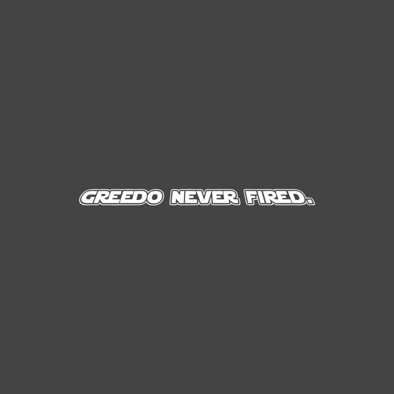 Greedo Never Fired Kids Baby Bodysuit by Dave Tees