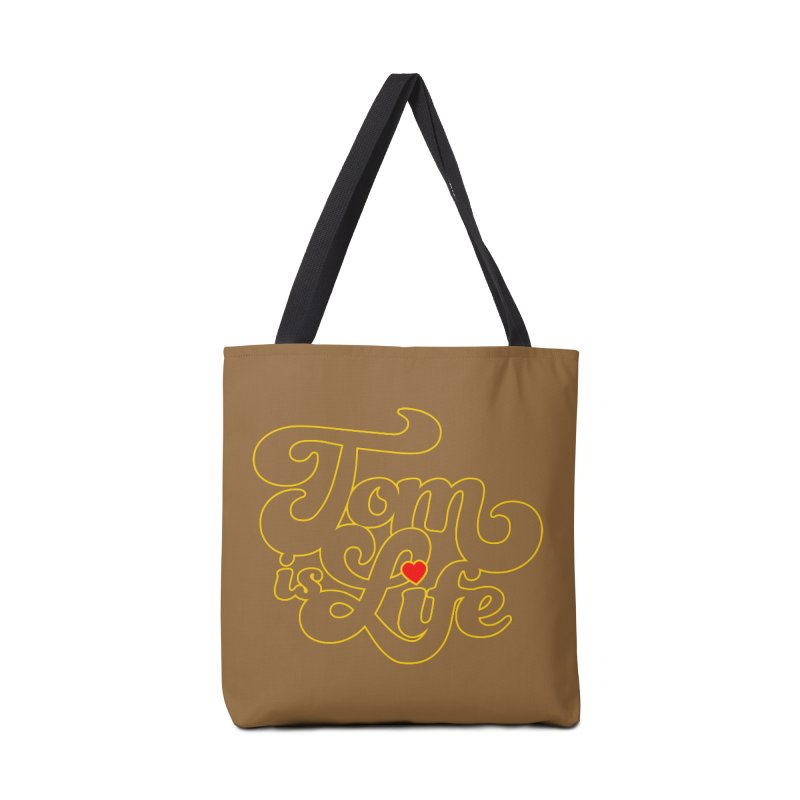 Tom is Life Accessories Tote Bag Bag by Dave Tees
