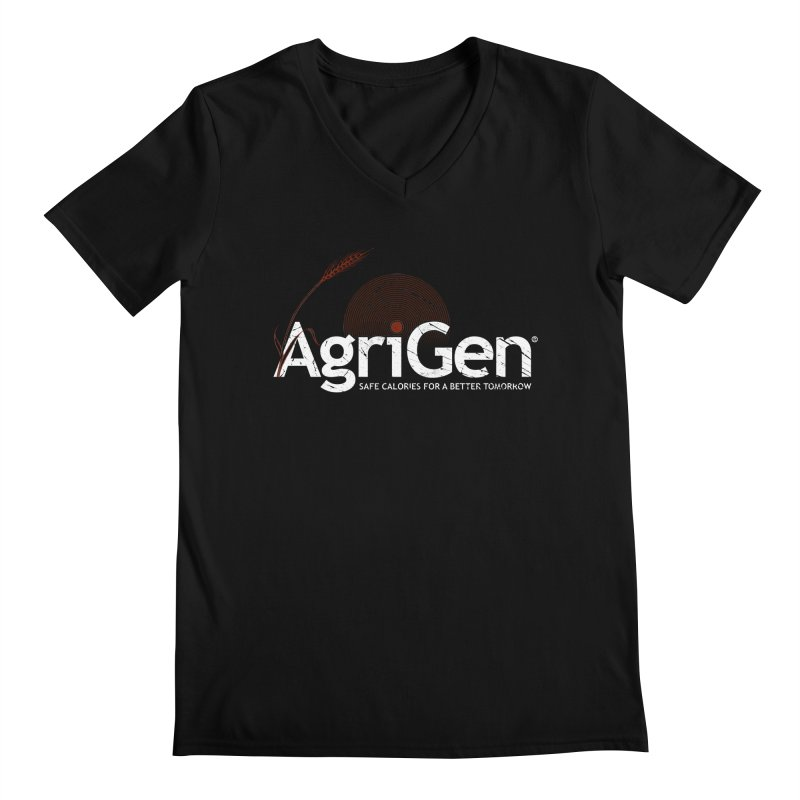 AgriGen (from The Windup Girl) Men's Regular V-Neck by Dave Tees