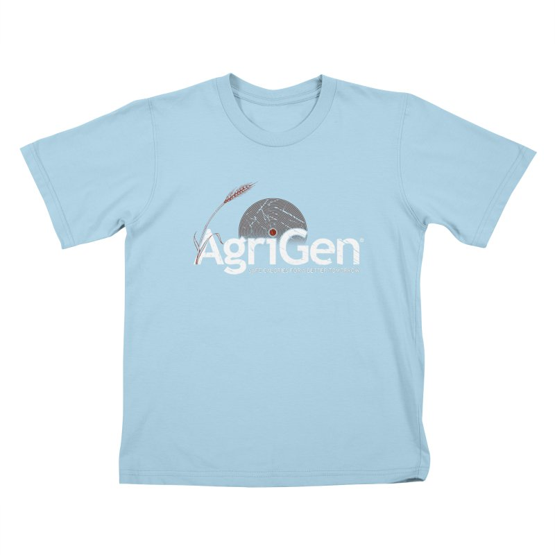 AgriGen (from The Windup Girl) Kids T-shirt by Dave Tees