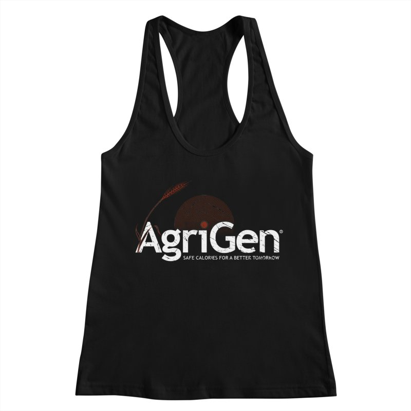 AgriGen (from The Windup Girl) Women's Racerback Tank by Dave Tees
