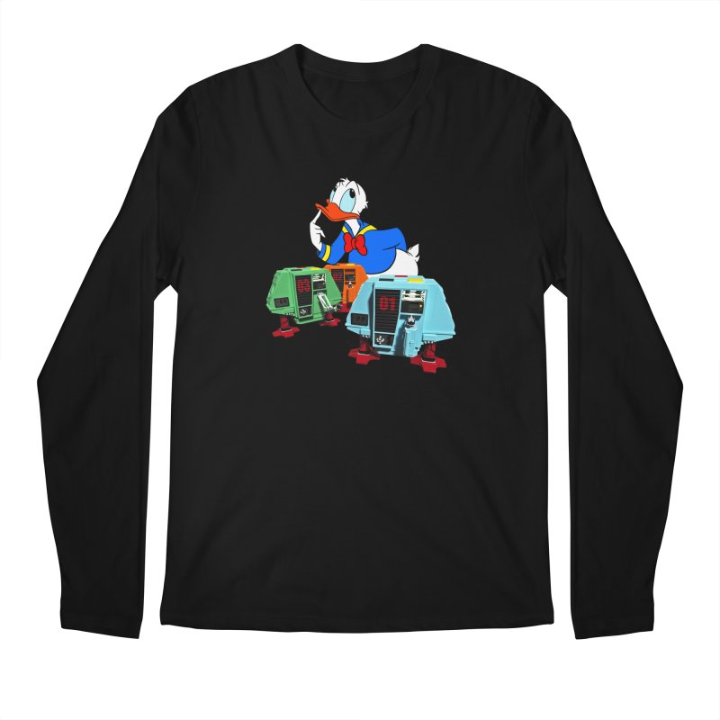Whoey? Dewey and Louie? Men's Longsleeve T-Shirt by Dave Tees
