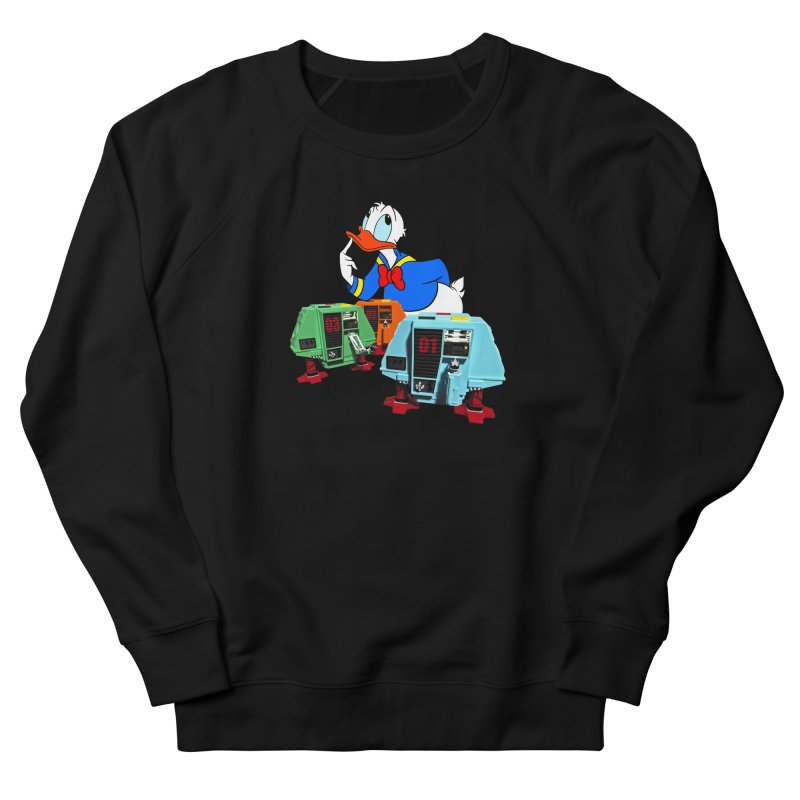 Whoey? Dewey and Louie? Women's French Terry Sweatshirt by Dave Tees