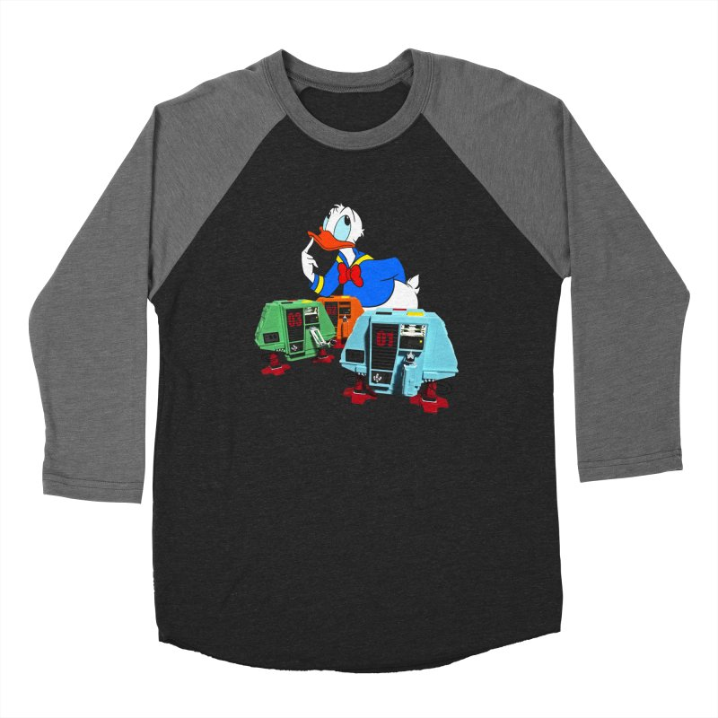 Whoey? Dewey and Louie? Men's Baseball Triblend Longsleeve T-Shirt by Dave Tees