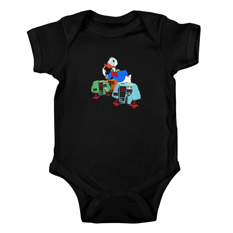 Whoey? Dewey and Louie? Kids Baby Bodysuit by Dave Tees