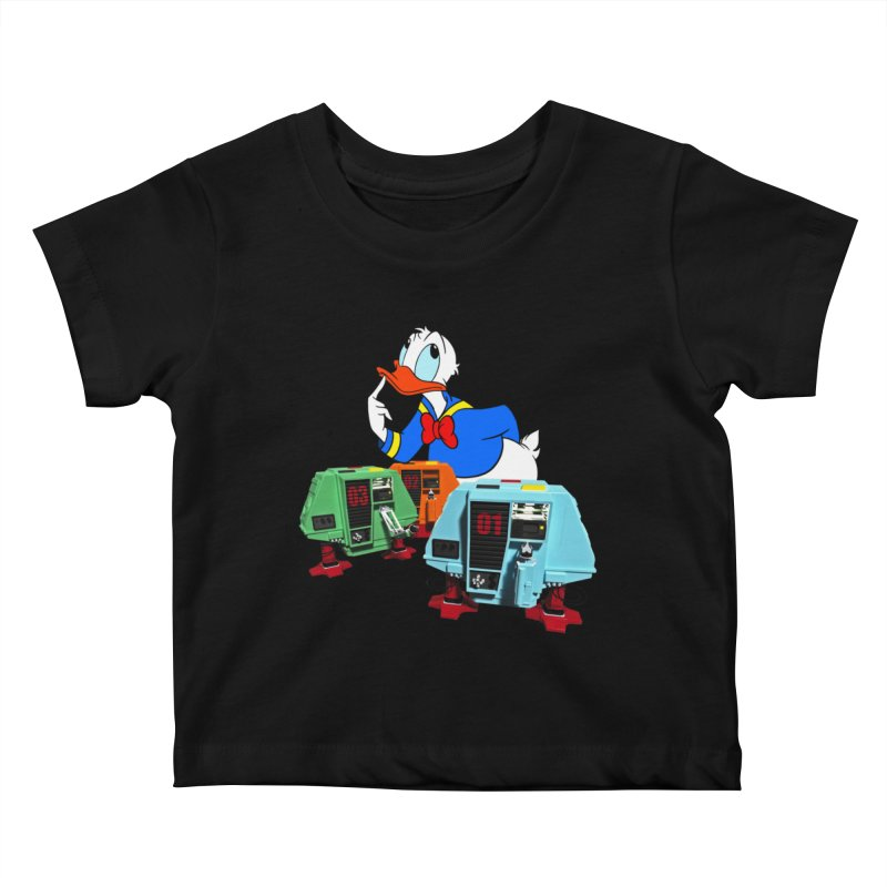 Whoey? Dewey and Louie? Kids Baby T-Shirt by Dave Tees