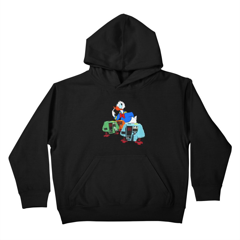 Whoey? Dewey and Louie? Kids Pullover Hoody by Dave Tees