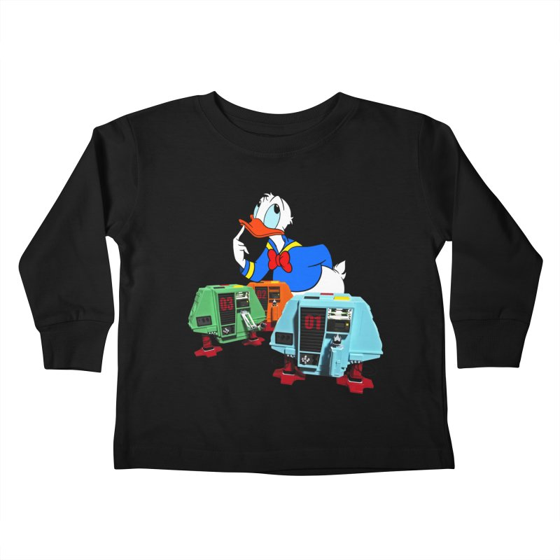 Whoey? Dewey and Louie? Kids Toddler Longsleeve T-Shirt by Dave Tees
