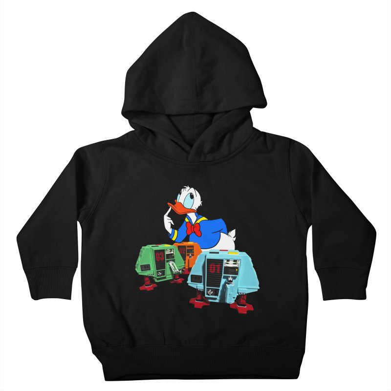 Whoey? Dewey and Louie? Kids Toddler Pullover Hoody by Dave Tees