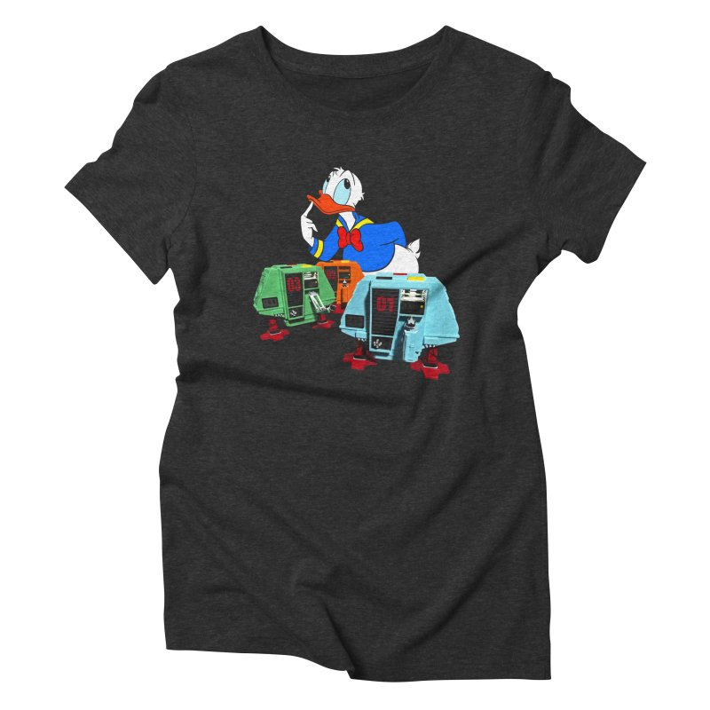 Whoey? Dewey and Louie? Women's Triblend T-shirt by Dave Tees