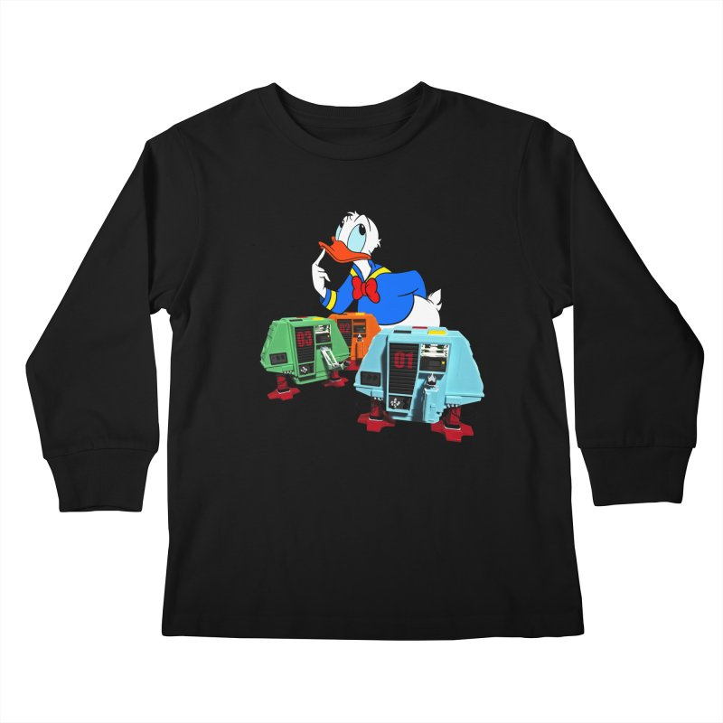 Whoey? Dewey and Louie? Kids Longsleeve T-Shirt by Dave Tees