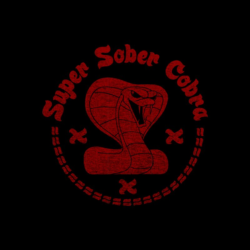 Super Sober Cobra Men's Tank by Dave Tees