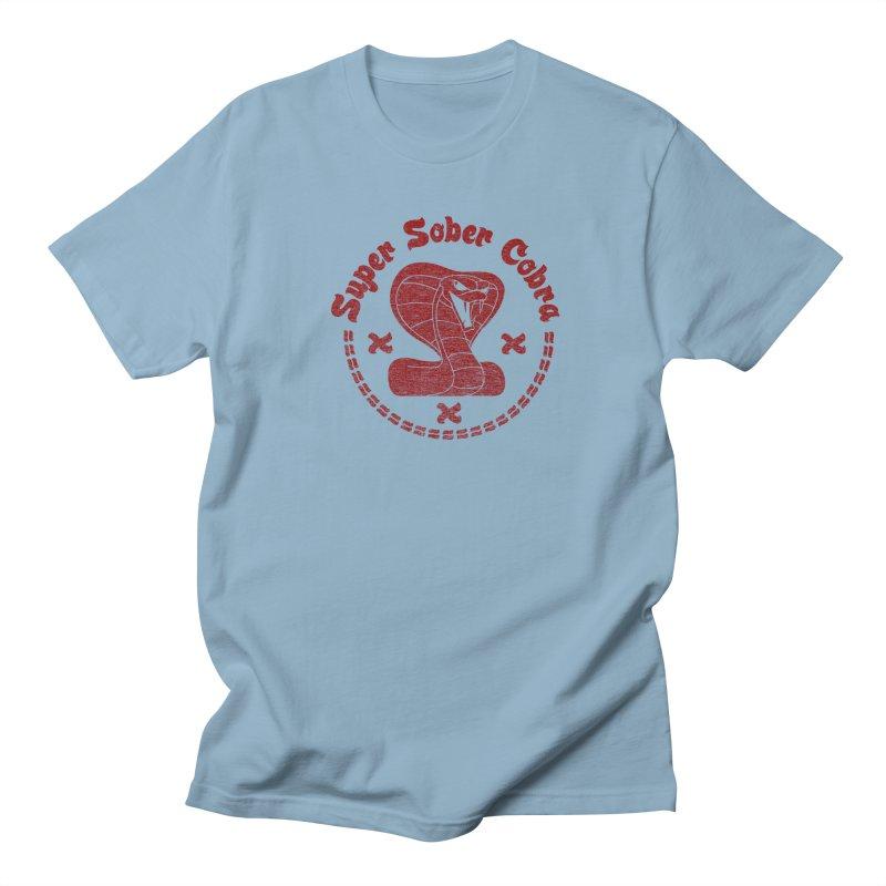 Super Sober Cobra Men's T-shirt by Dave Tees