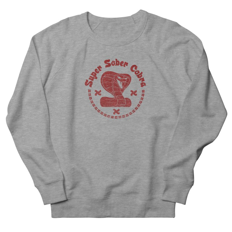 Super Sober Cobra Women's French Terry Sweatshirt by Dave Tees