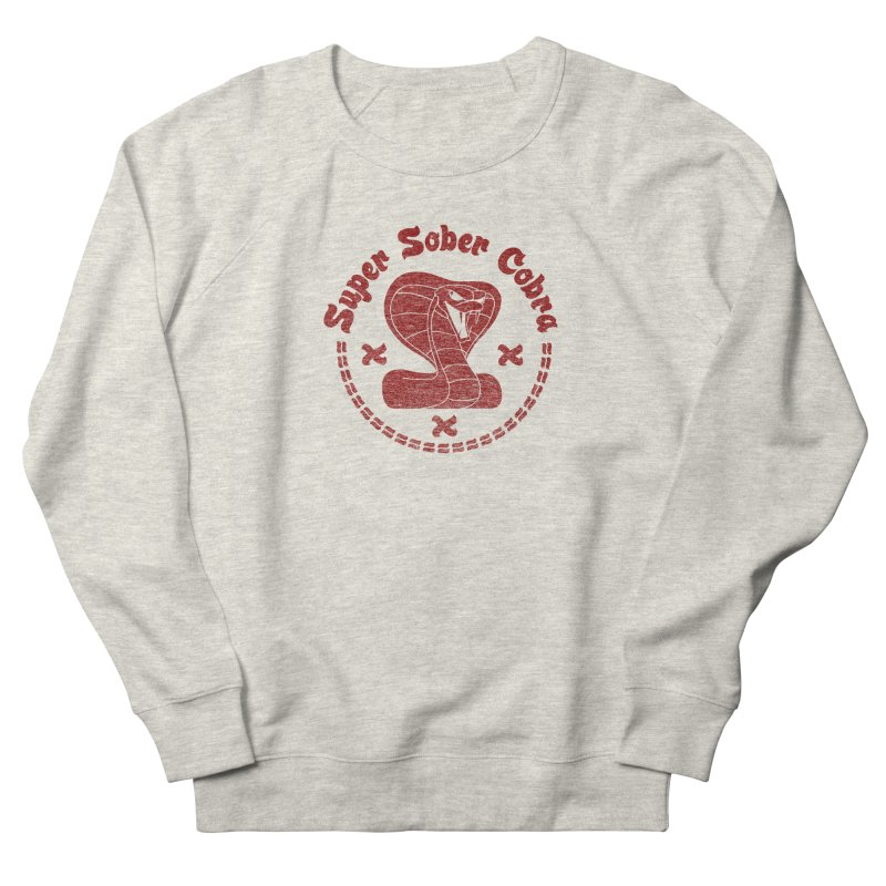 Super Sober Cobra Men's Sweatshirt by Dave Tees