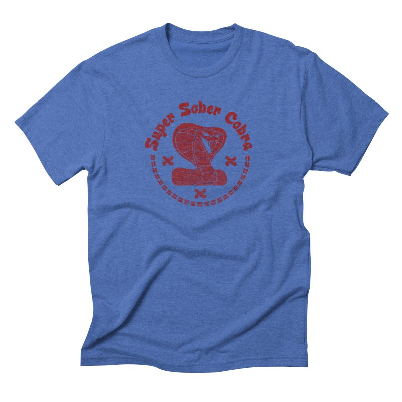 Super Sober Cobra Men's Triblend T-shirt by Dave Tees