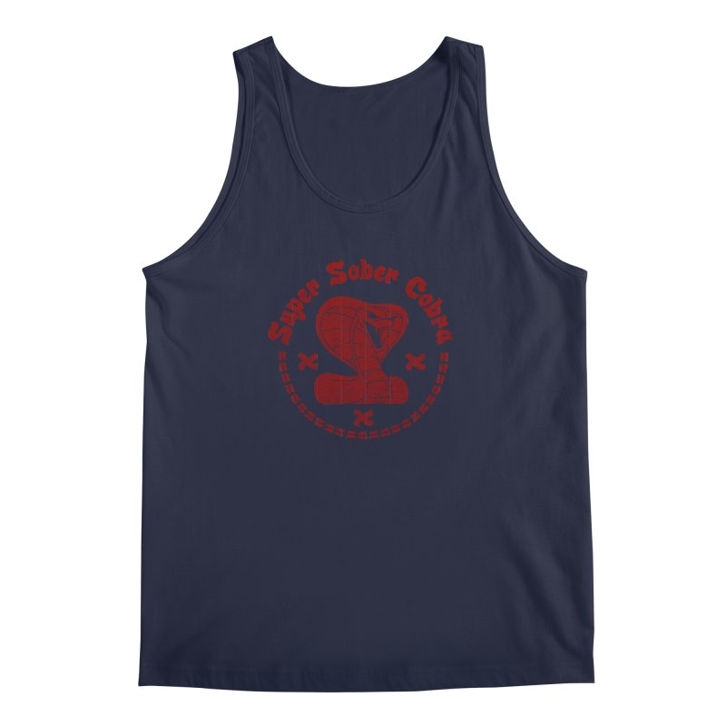 Super Sober Cobra Men's Tank by Dave Tees