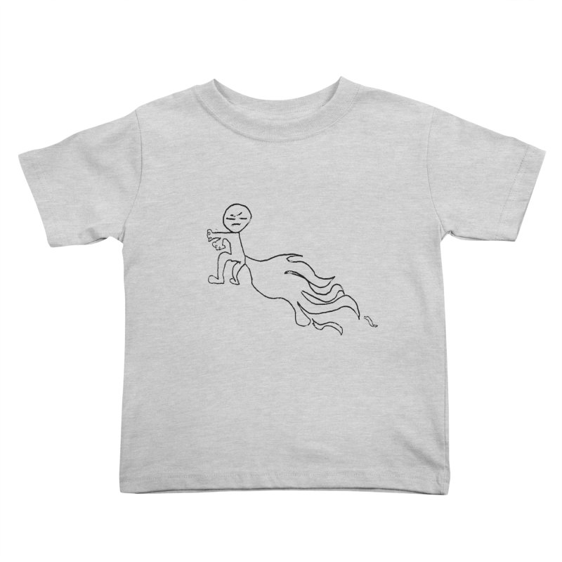 Erik's Man Kids Toddler T-Shirt by Dave Tees