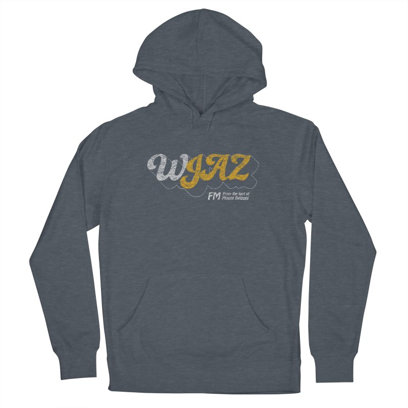 WJAZ from the foot of Mount Belzoni Men's French Terry Pullover Hoody by Dave Tees