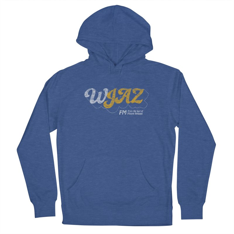WJAZ from the foot of Mount Belzoni Men's Pullover Hoody by Dave Tees