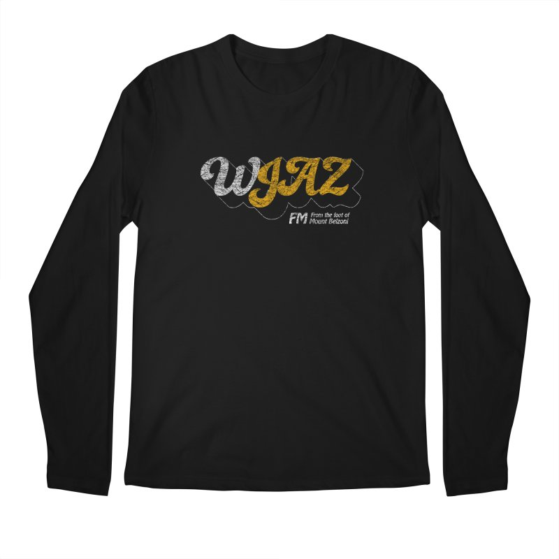 WJAZ from the foot of Mount Belzoni Men's Longsleeve T-Shirt by Dave Tees