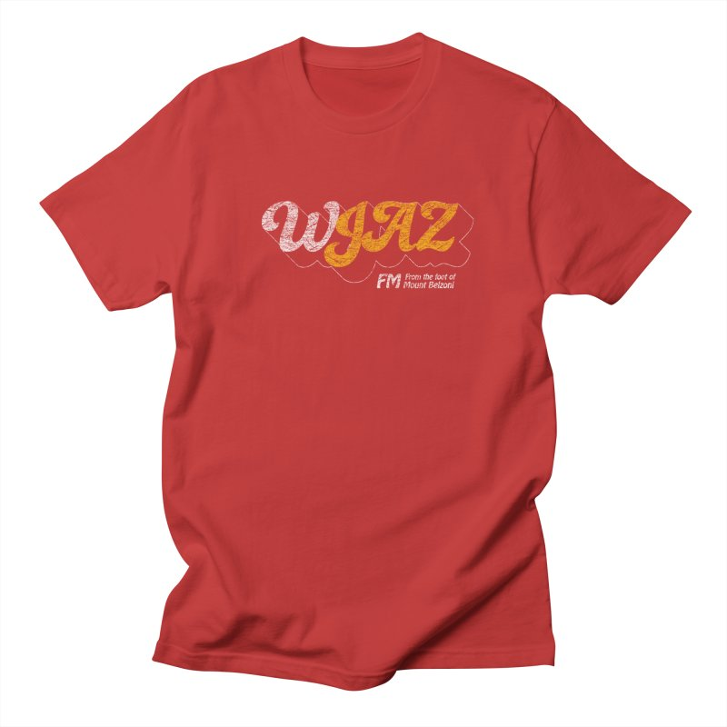 WJAZ from the foot of Mount Belzoni Men's T-Shirt by Dave Tees