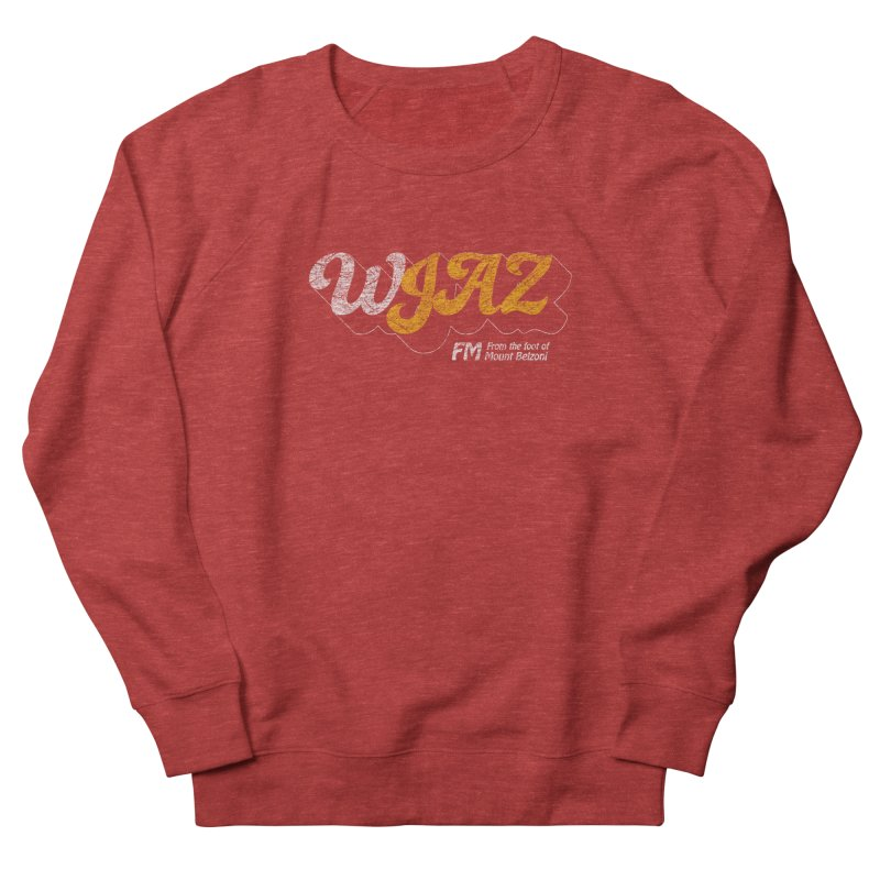 WJAZ from the foot of Mount Belzoni Women's Sweatshirt by Dave Tees