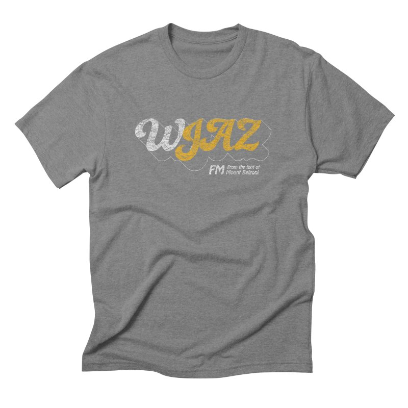 WJAZ from the foot of Mount Belzoni Men's Triblend T-shirt by Dave Tees