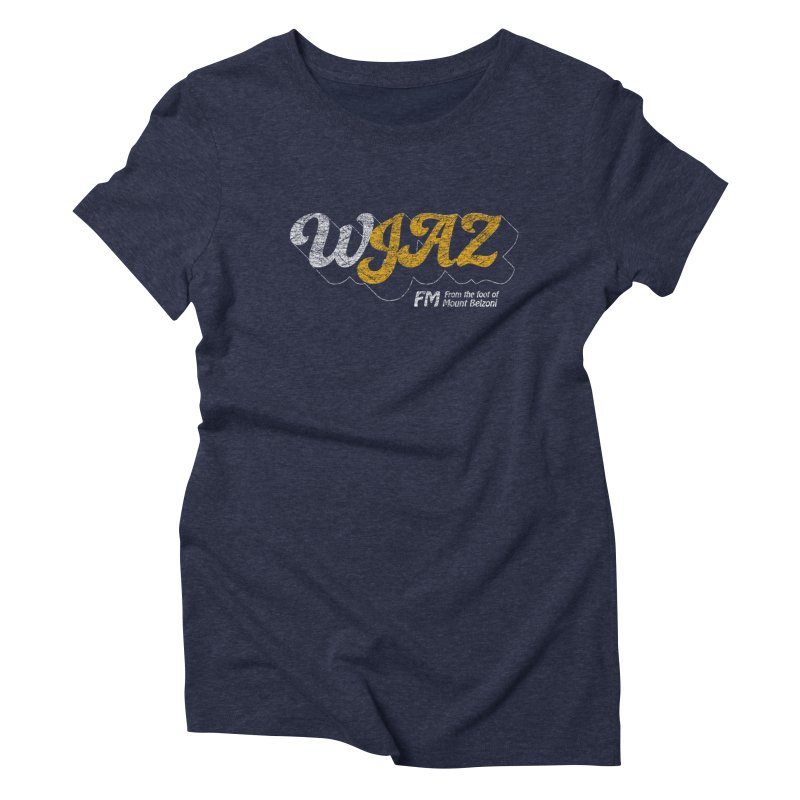 WJAZ from the foot of Mount Belzoni Women's Triblend T-shirt by Dave Tees
