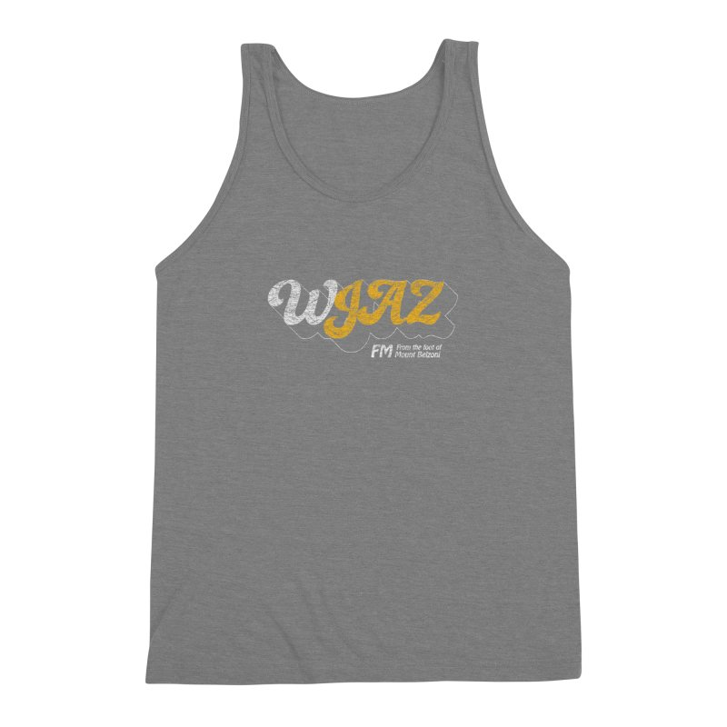 WJAZ from the foot of Mount Belzoni Men's Triblend Tank by Dave Tees