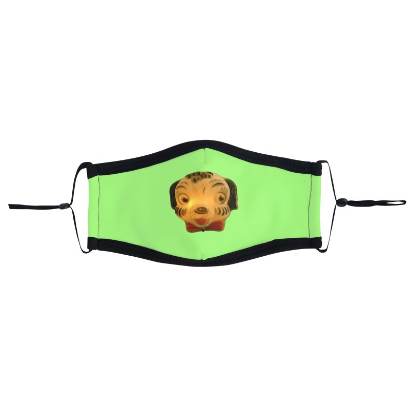 Puppy Head Accessories Face Mask by Dave Calver's Shop