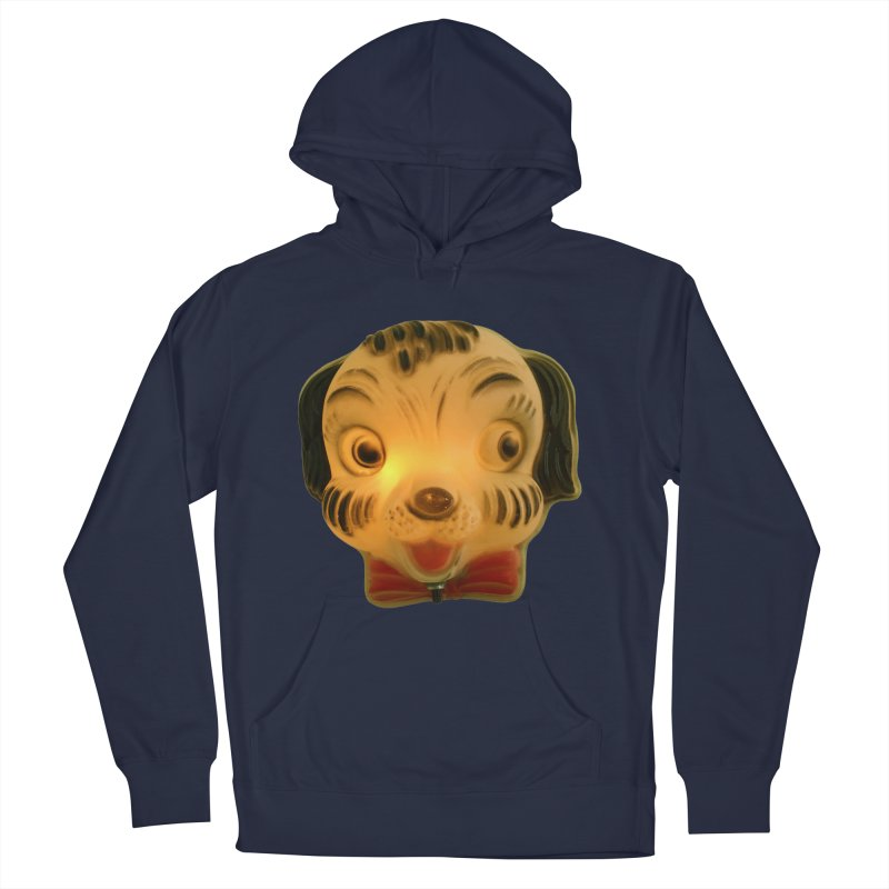 Puppy Head Women's French Terry Pullover Hoody by Dave Calver's Shop