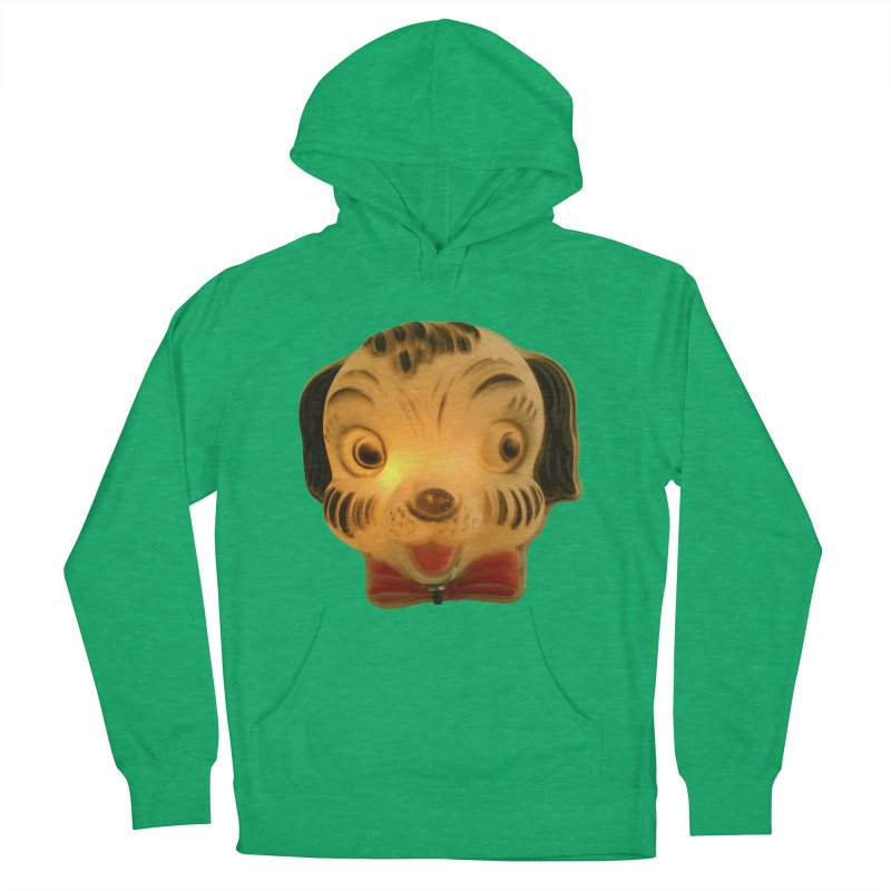Puppy Head Men's French Terry Pullover Hoody by Dave Calver's Shop