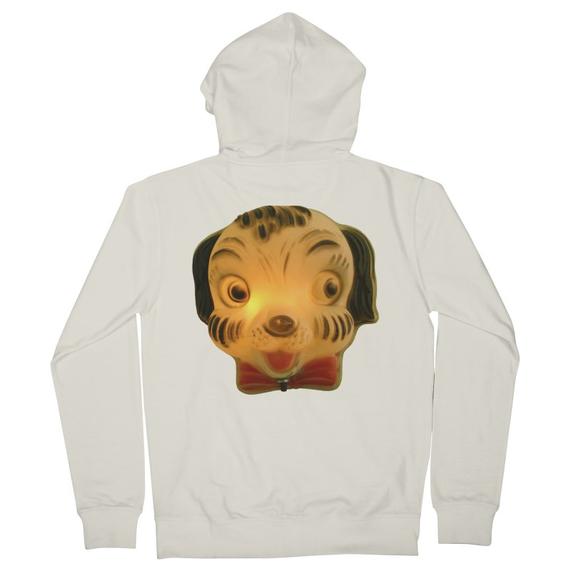Puppy Head Women's French Terry Zip-Up Hoody by Dave Calver's Shop