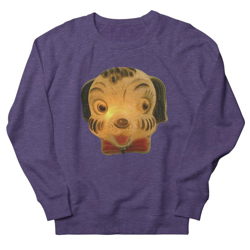 Puppy Head Women's French Terry Sweatshirt by Dave Calver's Shop