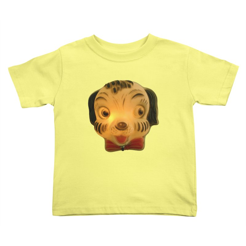 Puppy Head Kids Toddler T-Shirt by Dave Calver's Shop