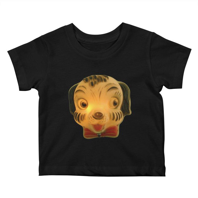 Puppy Head Kids Baby T-Shirt by Dave Calver's Shop