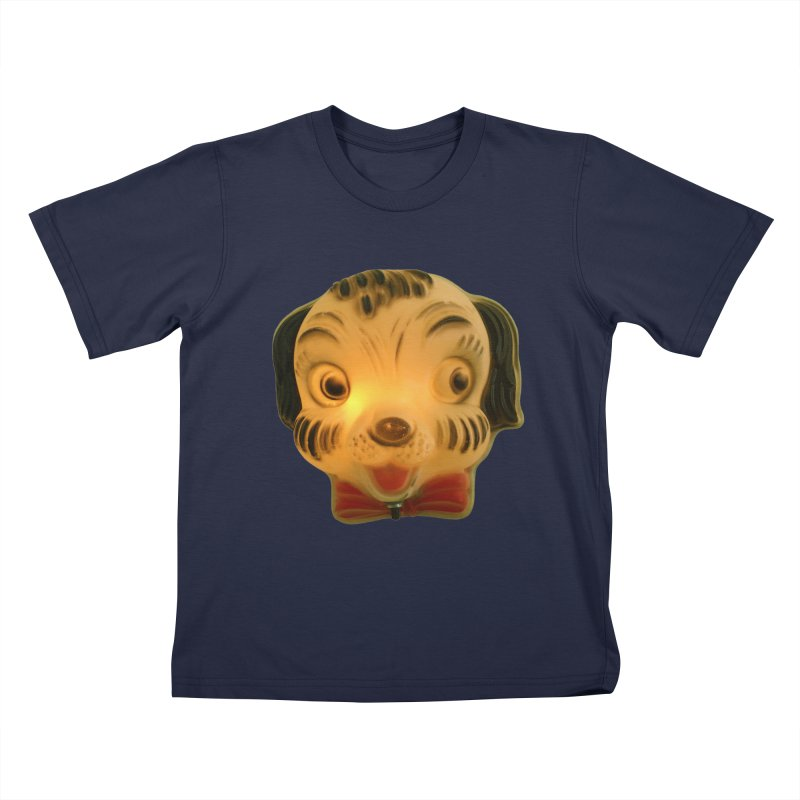Puppy Head Kids T-Shirt by Dave Calver's Shop