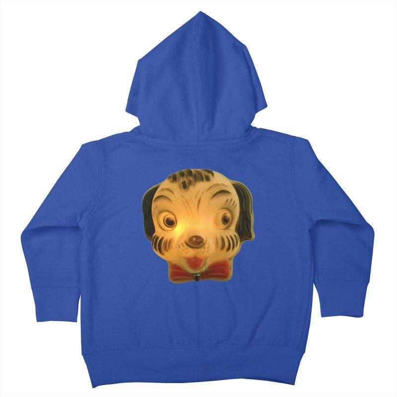 Puppy Head Kids Toddler Zip-Up Hoody by Dave Calver's Shop