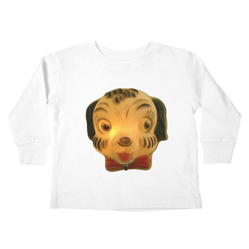 Puppy Head Kids Toddler Longsleeve T-Shirt by Dave Calver's Shop